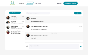 Real-time communication and connection with residents